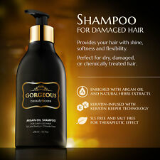 Shampoo for treatment after Brazilian smoothing enriched with keratin and