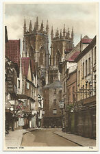 Yorkshire - York - Petergate - 1930's card