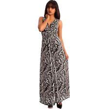 Lange Damenkleider mit Paisley-Muster