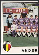 PANINI SPORT superstars EURO Football 1982 sticker Nº 129-Anderlecht