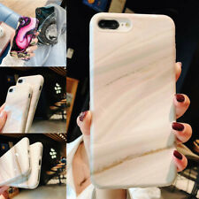 Marble Phone Case Cover For iPhone 7 6 6S 8 Plus Xs Fashion Soft TPU Back Shell