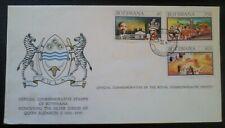 Official Commemorative 1977 Botswana, Silver Jubilee HM Queen Elizabeth II