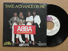 "DISQUE 45T DE ABBA "" TAKE A CHANCE ON ME """