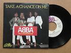 """DISQUE 45T DE ABBA """" TAKE A CHANCE ON ME """""""