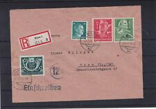 Reco Satzbrief innerhalb von Wien ECHT gelaufen + Einzelmarken