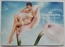 PALMERS KATALOG SUMMER 2012 LOOKBOOK BH DESSOUS WÄSCHE SEXY LINGERIE WOMAN