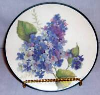 Homco Home Interiors English Garden 3 Plates Flowers  NEW in Box