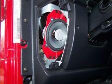 """NalinMFG™ Jeep TJ  LJ 4""""x6"""" to 5.25"""" Speaker Adapters"""