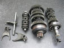 87 Honda CBR 600 Hurricane Transmission & Shift drum Forks E8