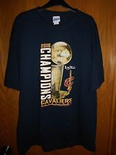 Men's Cleveland Cavaliers 2016 Championship Navy Tshirt Size: XL  NWT