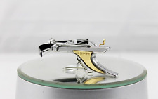 Small Toy Car Tabletop Decoration Stainless Mini CrossBow Fun Slingshot model 02