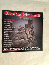CLAUDIO SIMONETTI SOUNDTRACKS COLLECTION PROFONDO ROSSO SUSPIRIA OPERA MRCD 4196