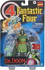 Marvel Legends Vintage Series ~ DR. DOOM EXCLUSIVE ACTION FIGURE ~ Hasbro Retro