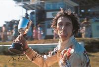 Arturo Merzario Hand Signed Trophy F1 12x8 Photo.