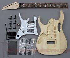 Bargain Musician - GK-026L - Left Hand DIY Unfinished Project Luthier Guitar Kit