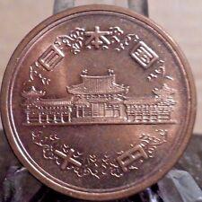 UNCIRCULATED 1964 10 YEN JAPANESE COIN (101416)2