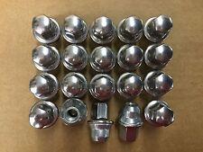 Set of 20: Chrysler OEM Stainless Steel Lug Nuts 6504672 611-181  FREE PRIORITY