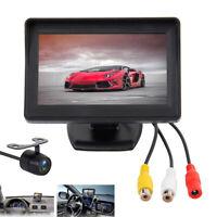 Rear View Reversing Camera Kit Parking HD Monitor Night Vision Car Van Bus Truck