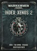 Warhammer 40k Index : Xenos 2 Orks Tau Empire  English