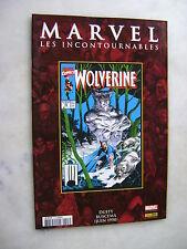 MARVEL les incontournables 3 - Wolverine - Panini comics