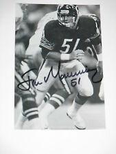 1985 Chicago Bears JIM MORRISSEY Signed 4x6 Photo NFL AUTOGRAPH 1