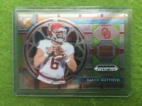 BAKER MAYFIELD PANINI PRIZM ROOKIE REFRACTOR RC 2018 Prizm DraftPicks #22 BROWNS
