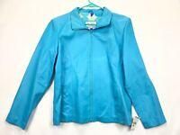 Women's Wilson's Leather Maxima Leather Jacket SIZE XL  $199 NWT  Blue