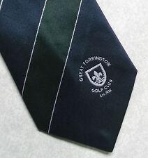 Vintage GOLF Tie Mens Necktie Retro Sport GOLFING CLUB GREAT TORRINGTON