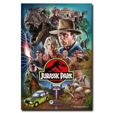 Jurassic Park24x36inch Classic Movie Silk Poster Art Print Wall Decoration Hot