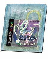 Game Boy Color POKEMON CRYSTAL pocket monsters Nintendo Japan Cartridge Only gbc
