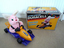 VINTAGE DURACELL RACING BUNNY WITH ORIGINAL BOX