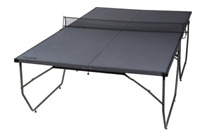 Table Tennis Durable Folding Conversion Top Ping Pong Board For Indoor Outdoor