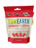 YumEarth Organic Gluten Free Pomegranate Licorice 5 Ounce 6 pack- Allergy Fri..