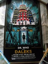 Dr Who and the Daleks - Tim Doyle - Limited Edition poster - RARE!