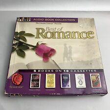 Best of Romance 5 Romantic Novels Collection Audiobook 10 Cassettes Gould Riley