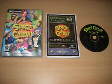 SPACE COLONY Pc Cd Rom Holographic case - SIM GAME - FAST DISPATCH