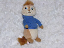 "Alvin And The Chipmunks 8"" Plush Simon Stuffed Animal Ty Beanie Baby 2011"