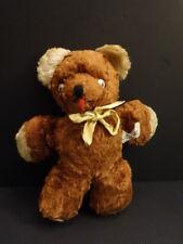 All Original GUND New York Cubbi Teddy Bear Brown + Music Box 1950 ?