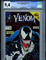 Venom Lethal Protector Issue # 1 CGC 9.4 NM Marvel Comic 1993 Amricons