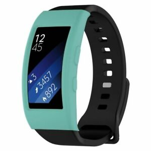 Silicone Case Cover Band Shell for Samsung Gear Fit 2 SM-R360 &Fit 2 Pro SM-R365