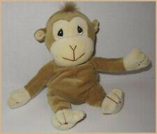 "Precious Moments Monkey Tender Tails Plush 10"" Beanbag Stuffed Animal 1998"
