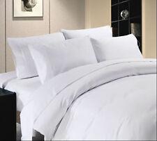 Duvet Cover Set Super King Size White Solid 1000 TC 100% Egyptian Cotton