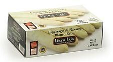 Espárrago de Navarra Extra 10/14 frutos Muy Grueso Gourmet Receta Cocina Comida