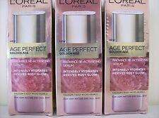 3x Loreal Age Perfect Golden Age radiance re-activating serum 125ml rrp $120