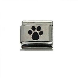 'Dog Print Paw' 9 mm Classic  Italian Charm