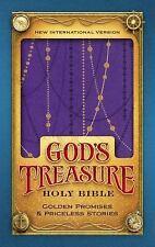 NIV God's Treasure Holy Bible, Imitation Leather, Amethyst: Golden Promises and