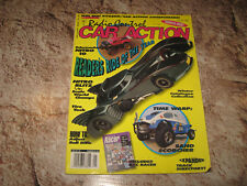 VINTAGE RC CAR ACTION MAGAZINE JAN 1992 BAT CAR NITRO 10 SRB TAMIYA SCORCHER RC