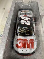 AUTOGRAPHED CHASE ELLIOTT #24 HMS 2016 3M CHEVY SS 1/24 ACTION NASCAR DIECAST