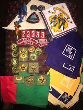 SALE! Vintage RARE Boy Scout Patch Sash Pin Scarfs 1960-70, 35+ Pieces