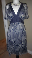 Gorgeous Topshop Bubble Hem Dress Size UK 12